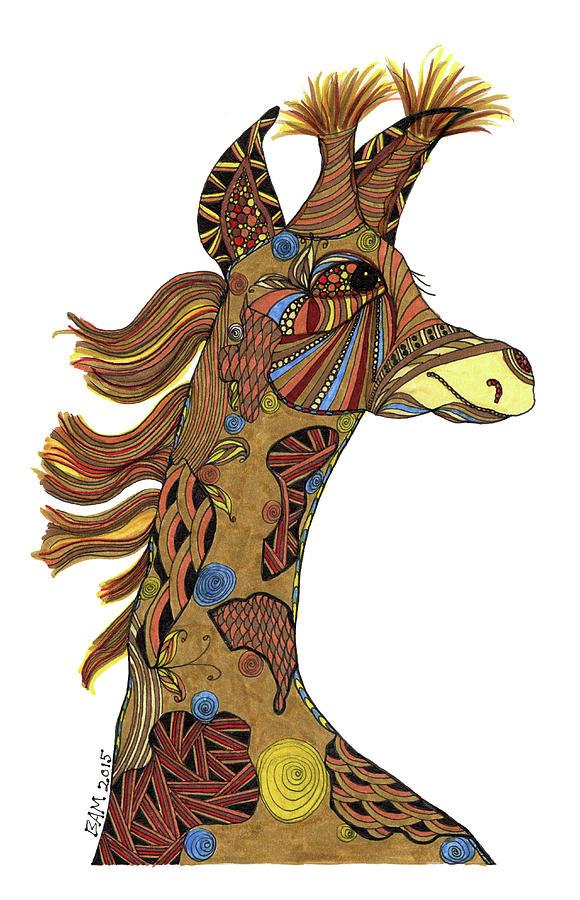 Josi Giraffe by Barbara McConoughey