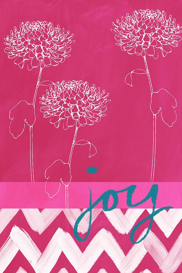 Flower Painting - Joy by Linda Woods