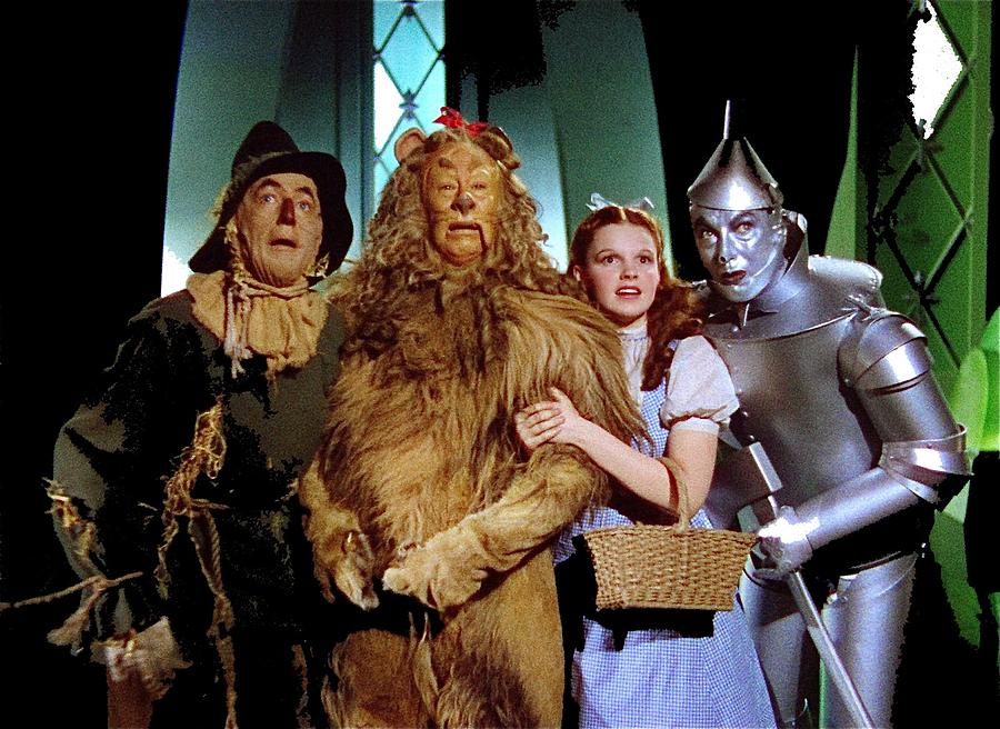 Judy Garland And Pals The Wizard Of Oz 1939-2016 Photograph by David Lee Guss