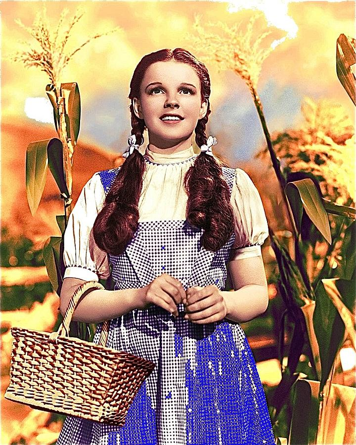 Judy Garland As Dorothy In The Wizard Of Oz Eric Carpenter Photo 1938-2014 Photograph by David Lee Guss