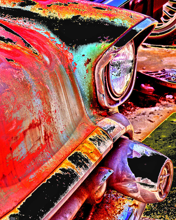 Junkyard Photograph - Junkyard In My Mind by Maureen Chase