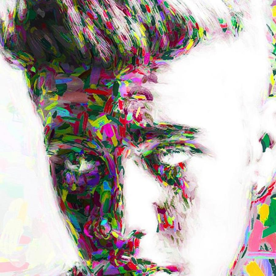 Star Photograph - #justinbieber @justinbieber by David Haskett II