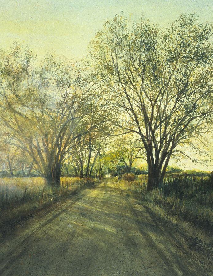 Country Painting - Kansas Morning by Janet Landrum
