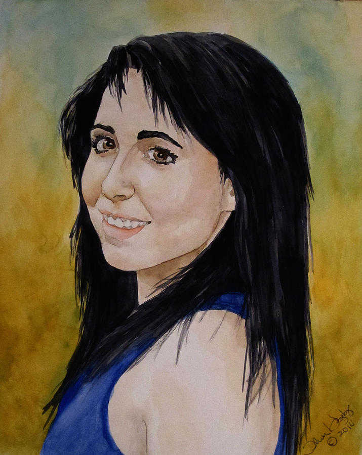 Portrait Painting - Kelley by Theresa Higby