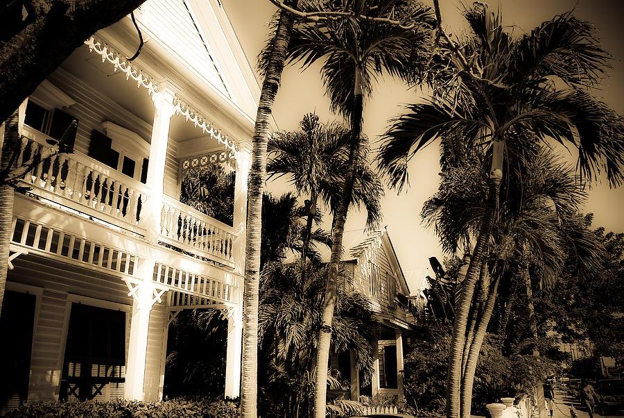 Florida Photograph - Key West House by Patrick  Flynn