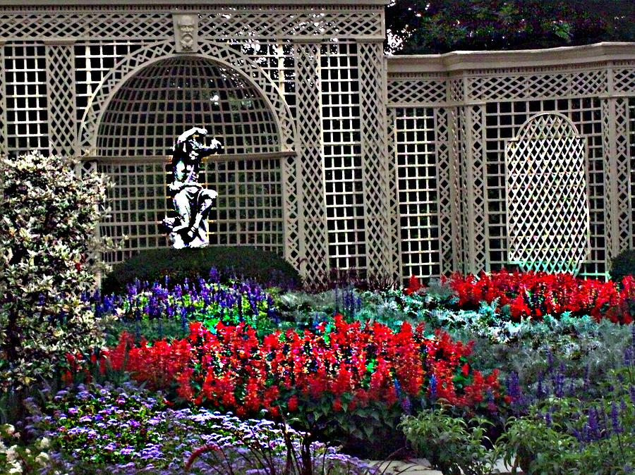 Flowers Photograph - Kingwood Center by Crystal Webb