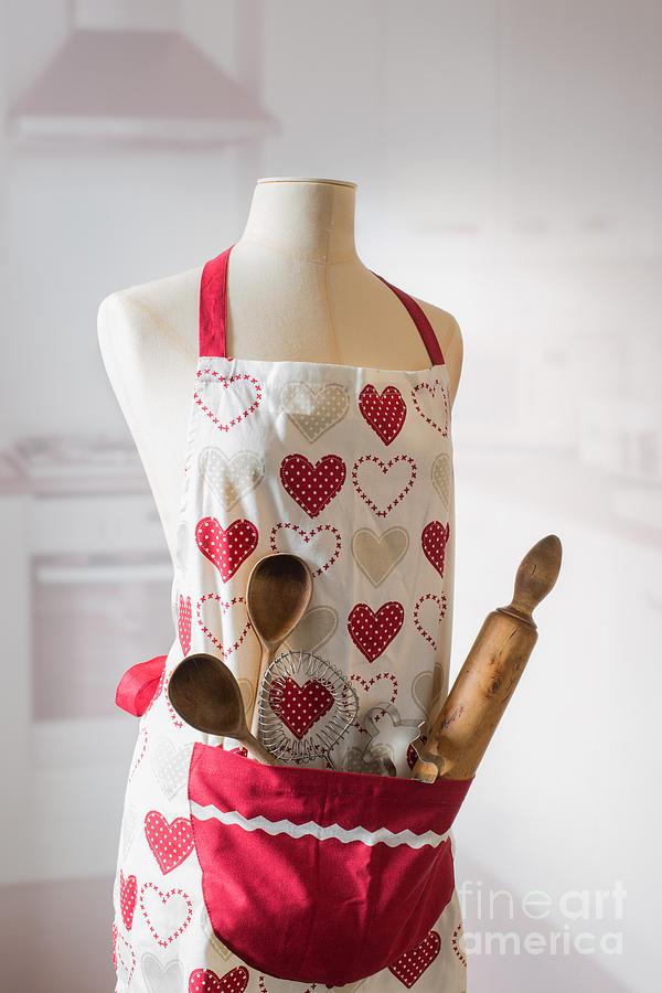 Baking Photograph - Kitchen Apron by Amanda Elwell