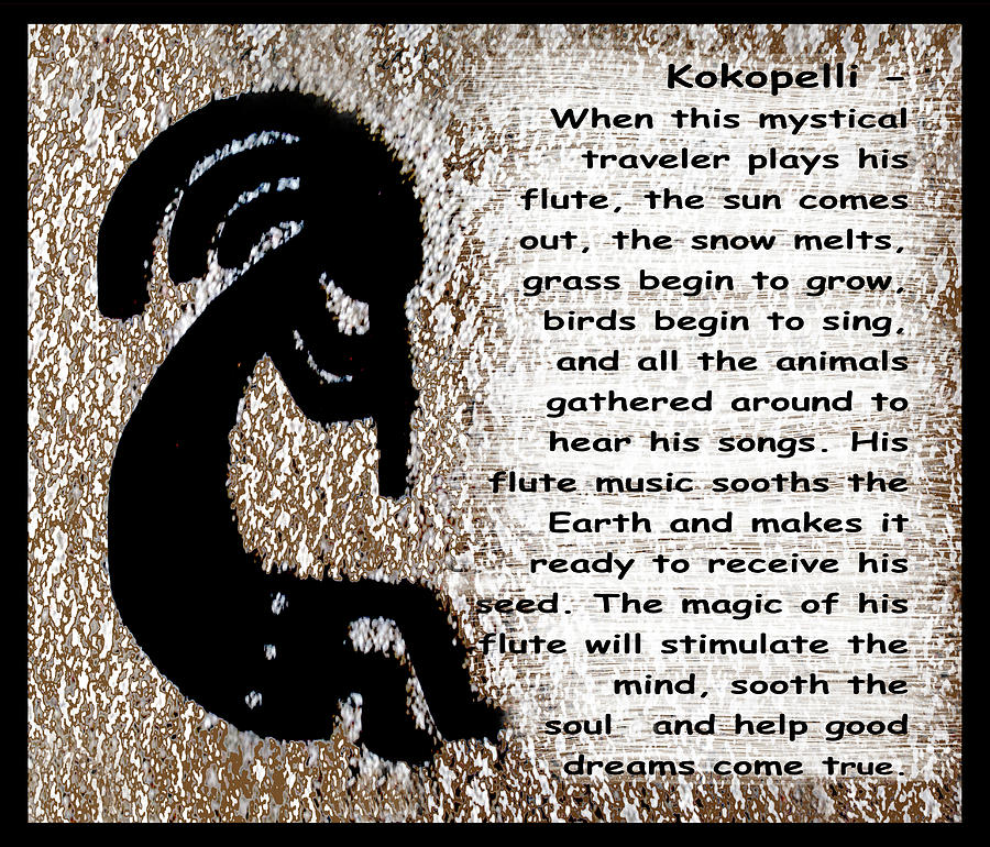 Kokopelli Photograph