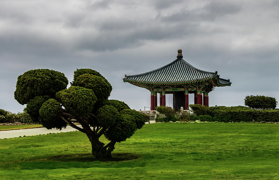 Korean Bell of Friendship by Ed Clark