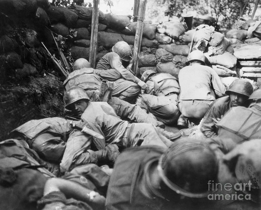 1950s Photograph - Korean War, 1950-1953 by Granger