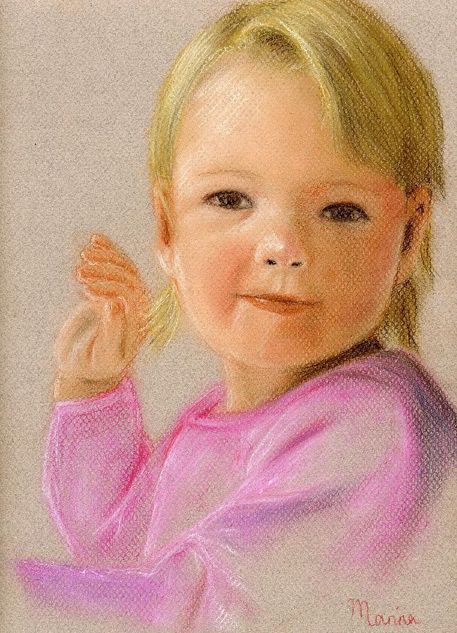 Portrait Painting - Kyra by Marina Garrison