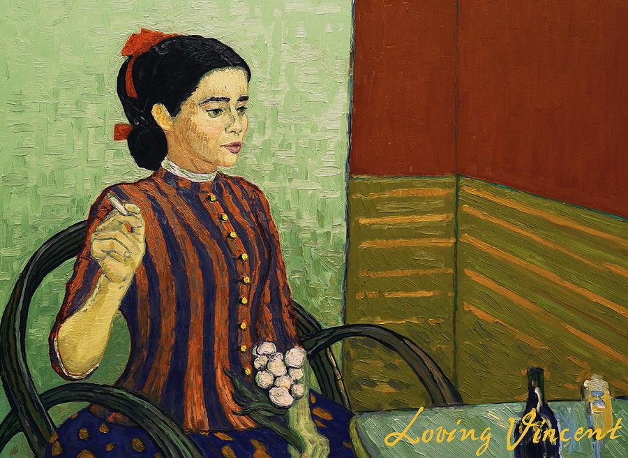 La Mousme is Unconvinced Painting by Dominika Pietrzak