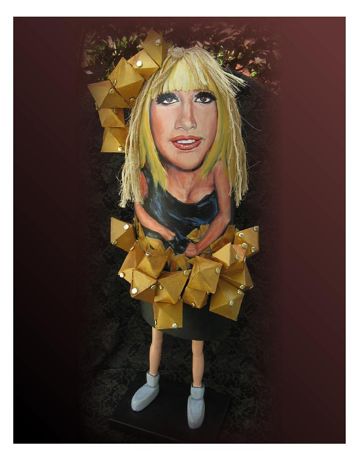 Celebrity Painting - Lady Buoy by Cathi Doherty