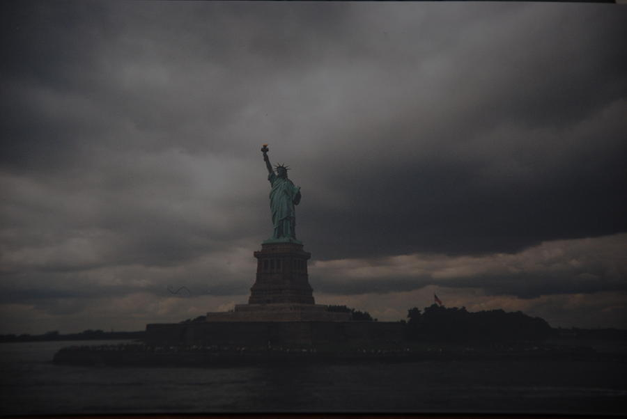 Statue Of Liberty Photograph - Lady Liberty by Rob Hans