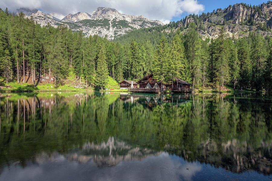 Cortina Photograph - Lago Ghedina - Dolomiti by Joana Kruse