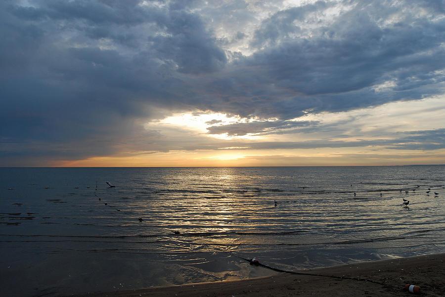 Lake Erie Photograph - Lake Erie Sunrise by Peter  McIntosh
