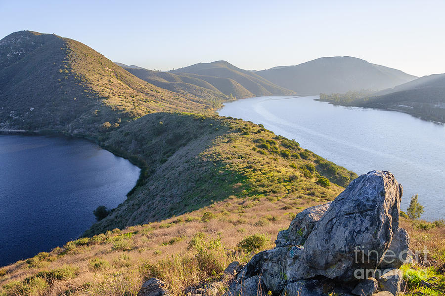 California Photograph - Lake Hodges by Alexander Kunz