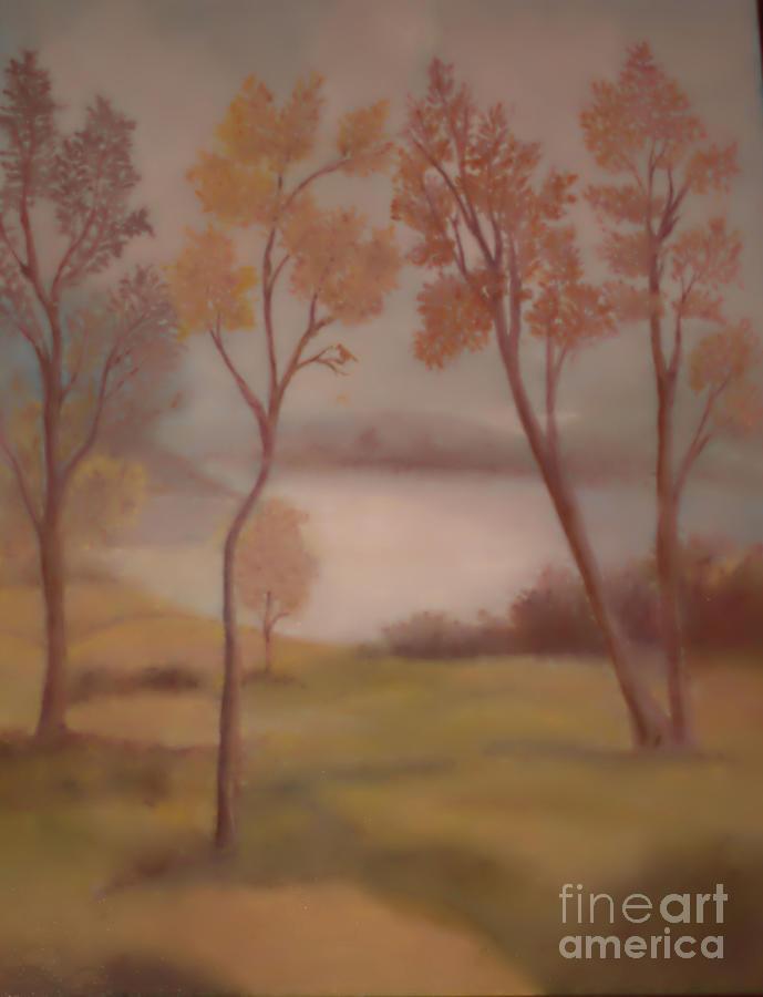 Lake Jackson Painting - Lake Jackson by Lyn Vic