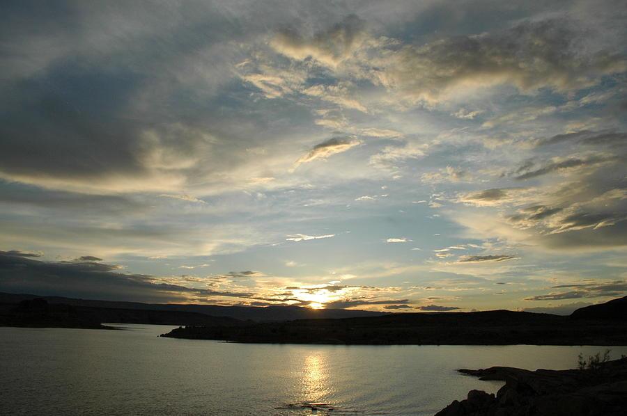 Lake Powell Sunset Photograph