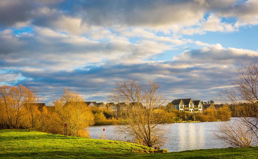 Lake Photograph - Lake View by Gary Gillette