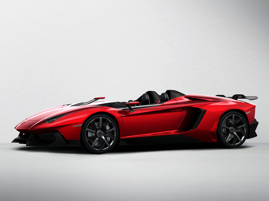 Lamborghini Digital Art - Lamborghini by Dorothy Binder