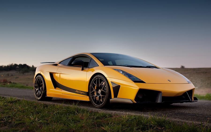 Lamborghini Gallardo Superleggera 4 Digital Art By Rose Lynn