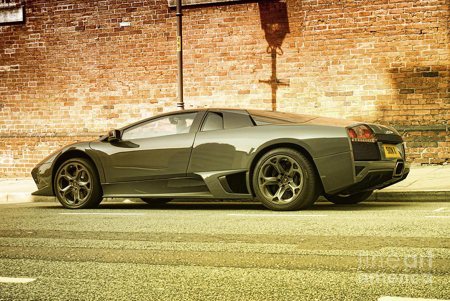 Auto Photograph - Lamborghini by Hristo Hristov