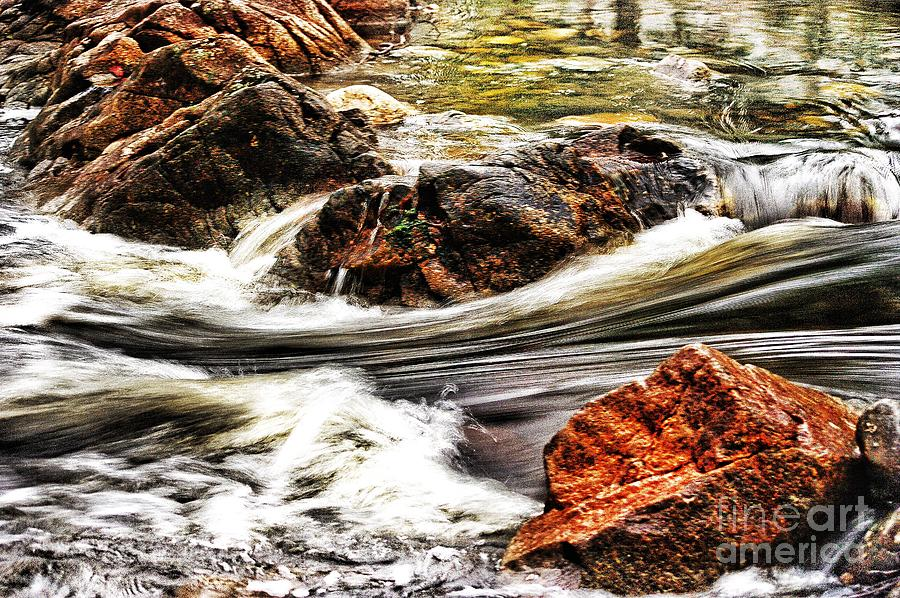 River Photograph - Lamina Flow by Blair Stuart