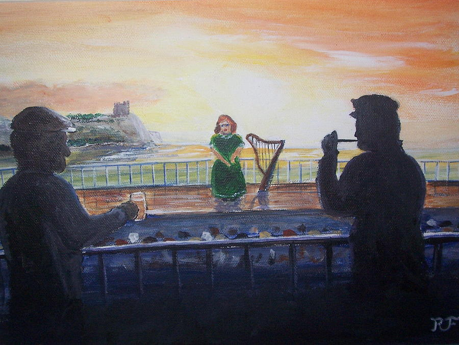 Ireland Painting - Land Of My Fathers by Richard Finnell