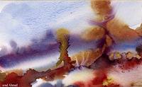 Land Skeep Painting by Soaad Ahmad