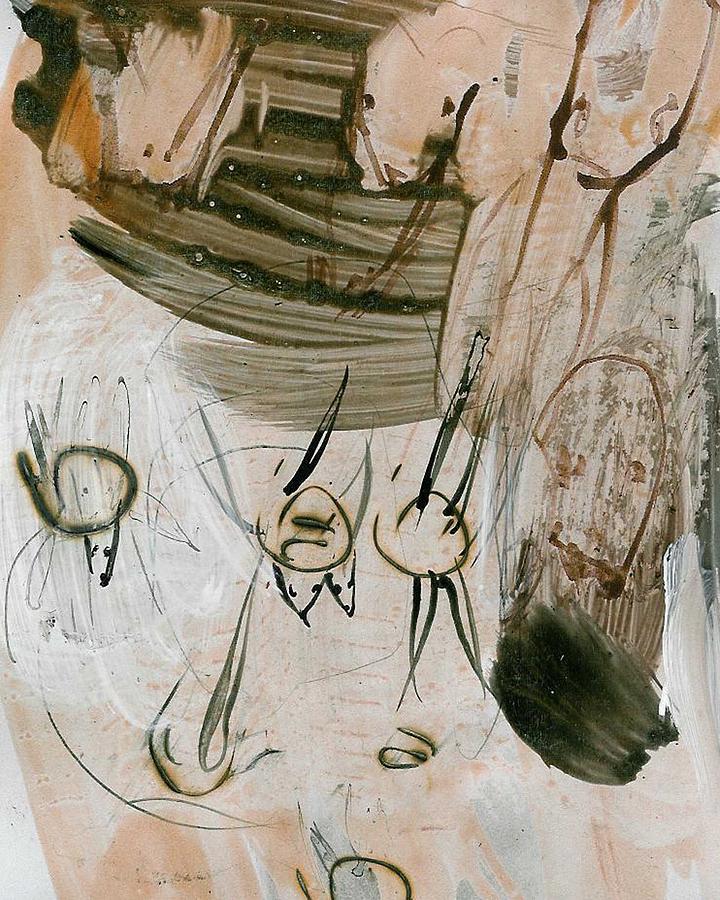 Landscabe Painting by Uffe Weinreich Becker