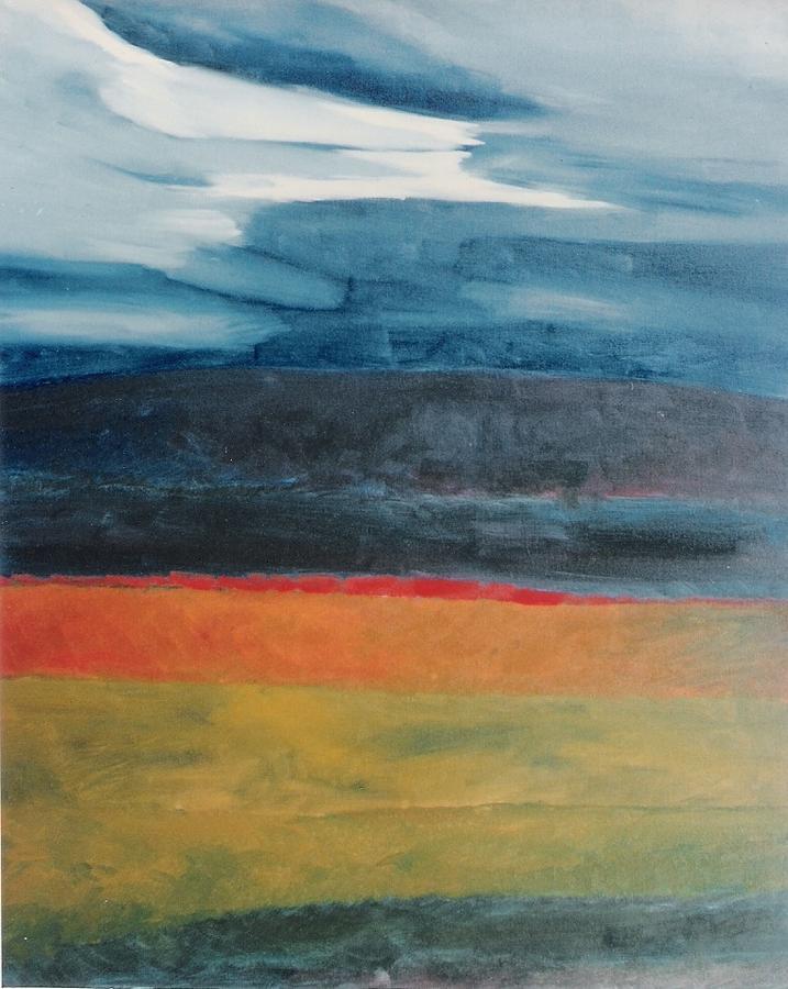Landscape Painting - Landscape by Gorakhnath Baile