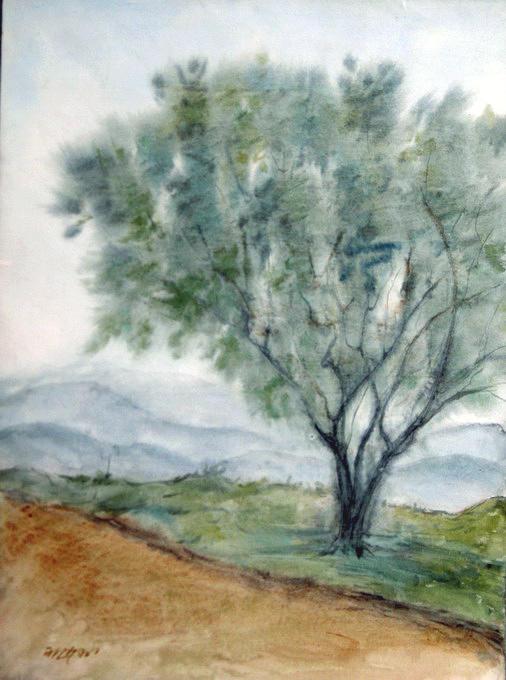 Landscape Painting by Sadek Ali