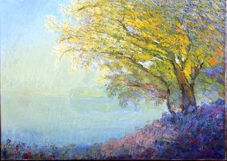 Landscape Painting - Landscape by Zenona  Parent