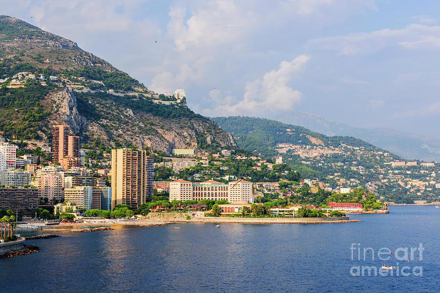 Monaco Photograph - Larvotto Beach In Monaco by Elena Elisseeva