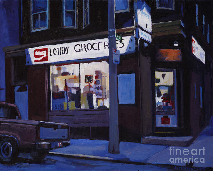 Paintings Painting - Last Call by Deb Putnam