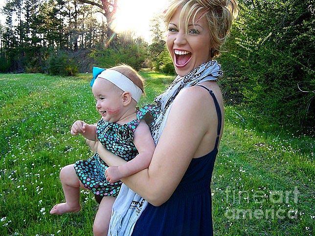 Mom Photograph - Laura And Emily Craig by Amanda  Sanford