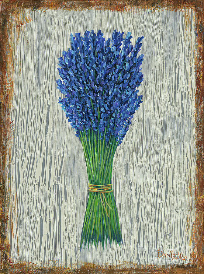 Lavender Painting - Lavender by Danielle Perry