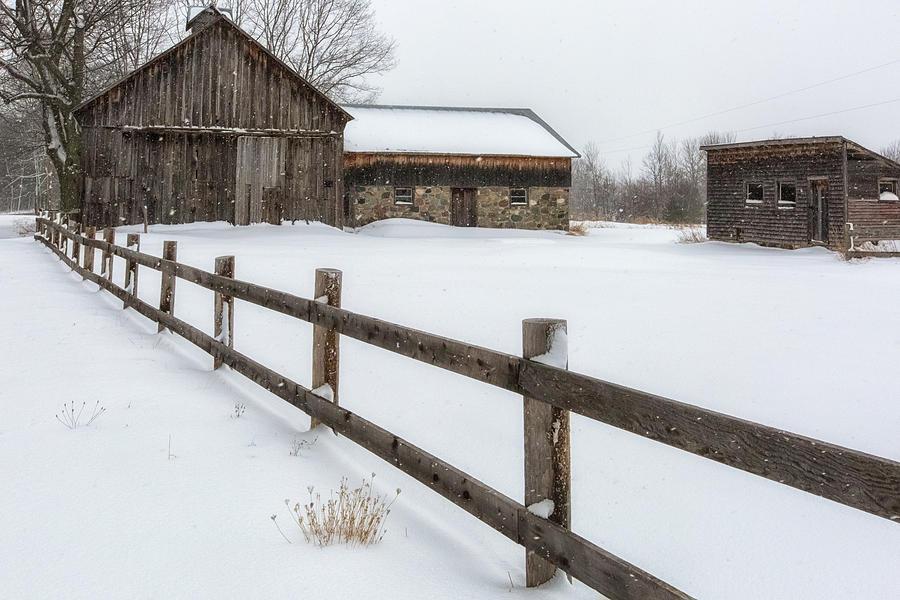 Farm Photograph - Lawr Farm by Heather Kenward