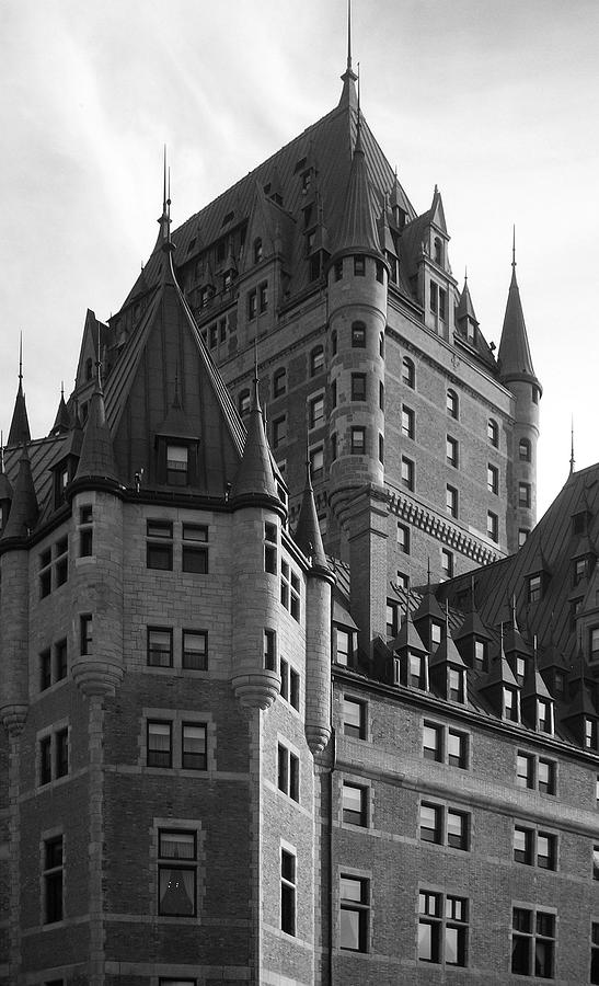 North America Photograph - Le Chateau by Juergen Weiss