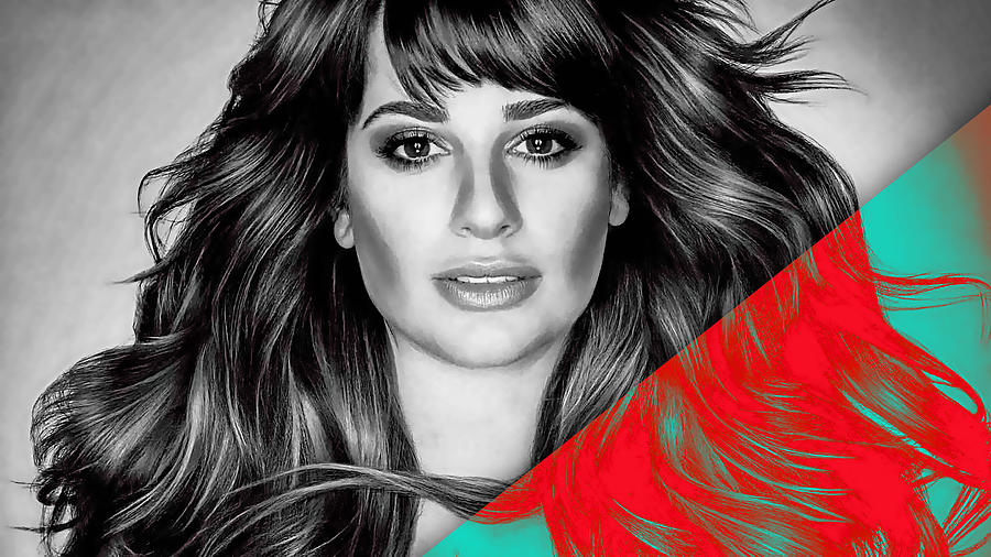 Lea Michele Mixed Media - Lea Michele Collection by Marvin Blaine