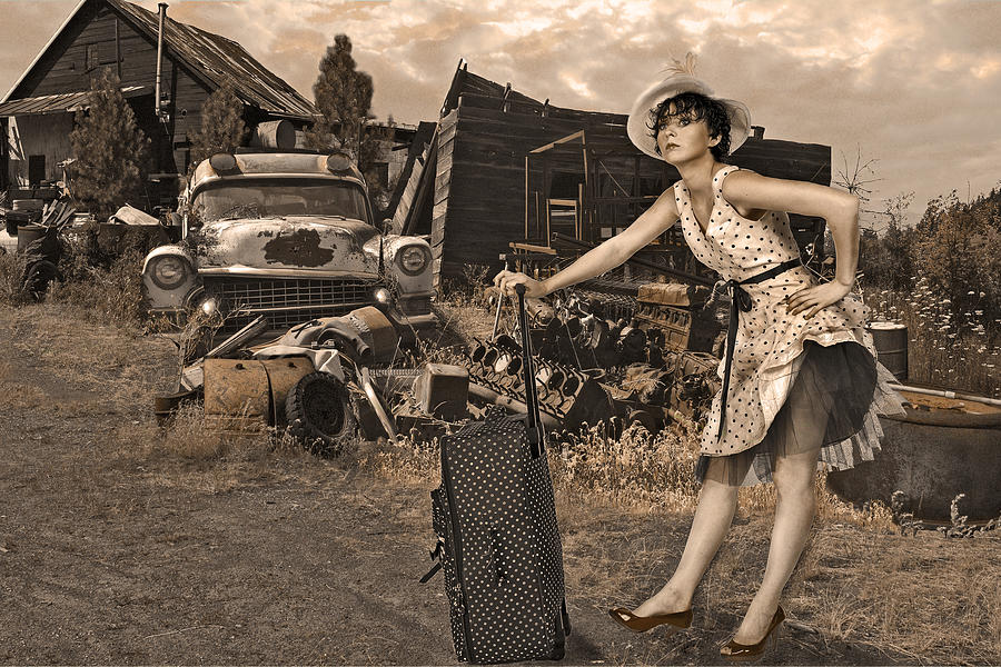 Leaving Home For Good..... Photograph