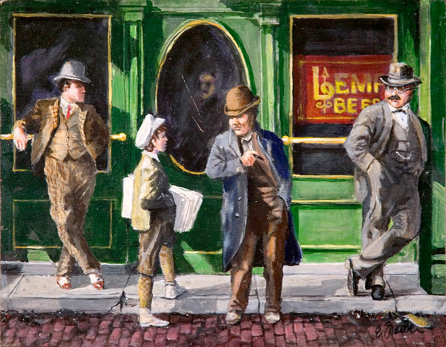 Lemp Beer Painting by Edward Farber