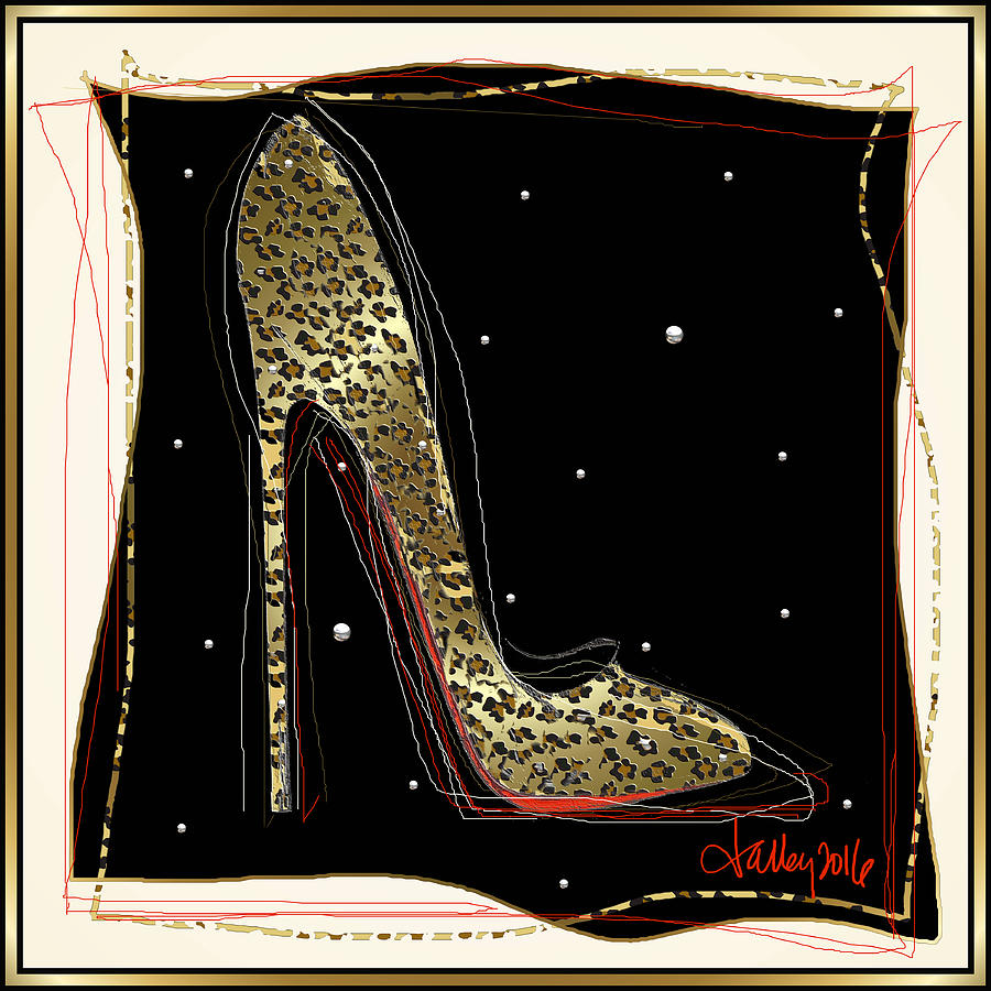 Leopard Louboutin by Larry Talley