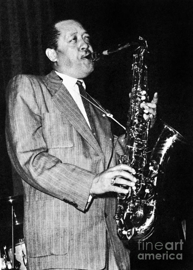 1950s Photograph - Lester Young by Granger