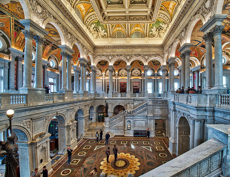 Library of Congress by Farol Tomson