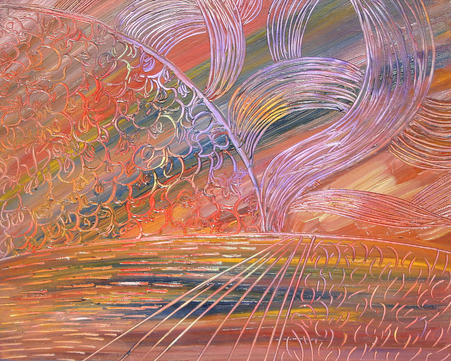 Sun Painting - Life Energy by Karen Stagemyer