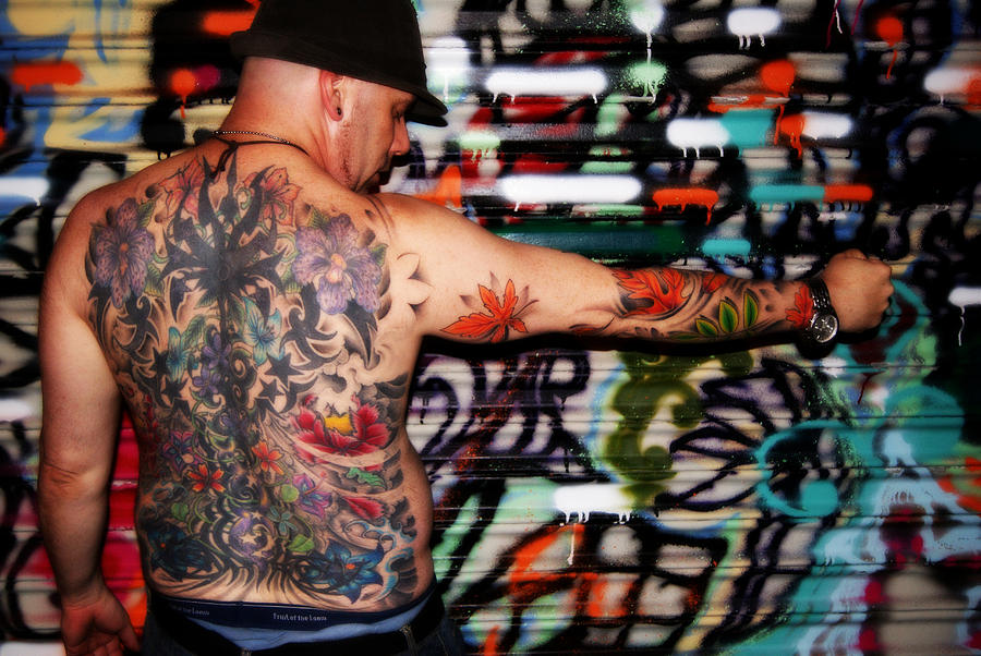 Tattoo Photograph - Life In Color by Laura Bolden