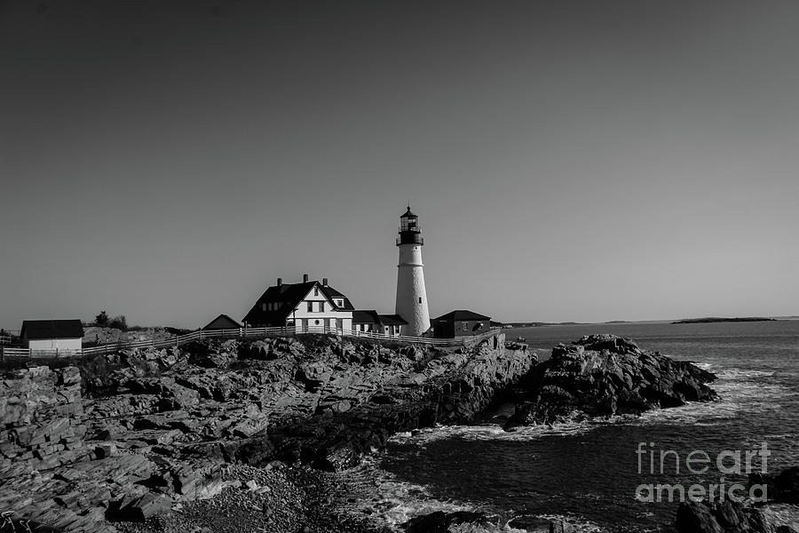 Cape Elizabeth Photograph - Lighthouse by Victory Designs