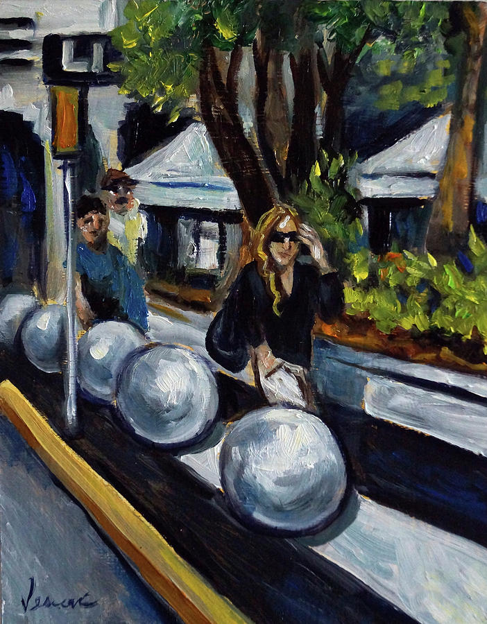 South Beach Painting - Lincoln Road by Valerie Vescovi